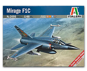 Mirage F.1C 1/48 Italeri