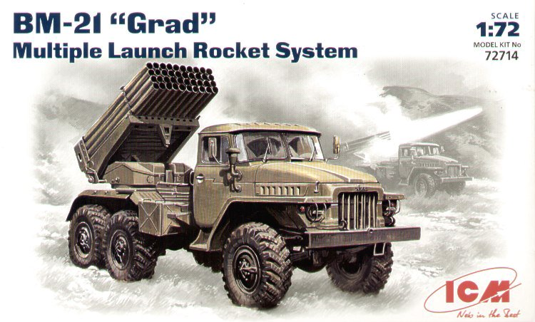 BM-21 \'Grad\' 1/72 ICM