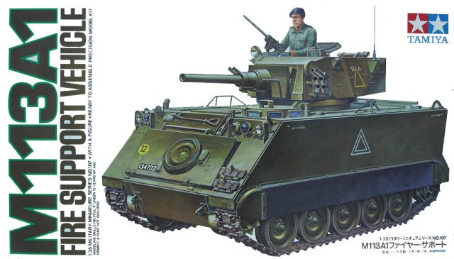 M113A1 Fire Support Vehicle 1/35 Tamiya