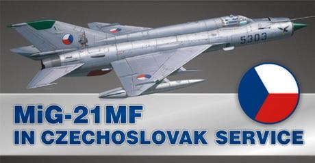 MiG-21MF in Czechoslovak service (Lim.Edit.) 1/48 Eduard