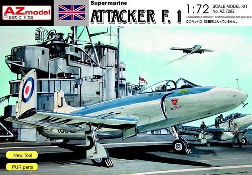 Supermarine Attacker F.Mk.I 1/72 AZ Model