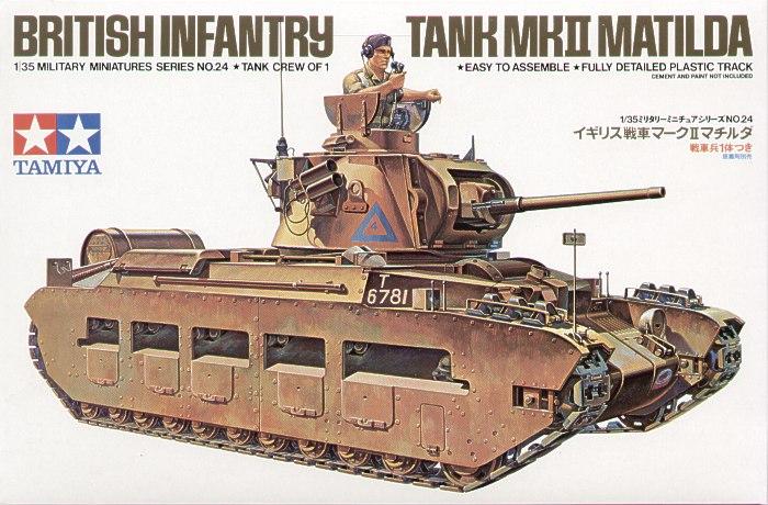 British Infantry Tank Mk.II Matilda 1/35 Tamiya