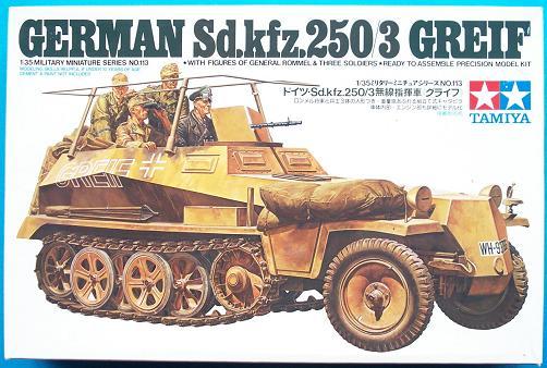 """German Sd.Kfz 250/3 """"GREIF"""" 1/35 Tamiya"""