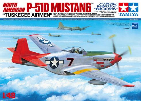 North American P-51D Mustang Tuskegee Airmen 1/48 Tamiya