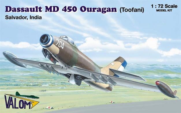 MD 450 Ouragan /Toofani/ (Salvador, India) 1/72 Valom