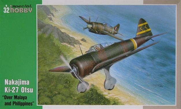 Ki-27 Otsu \'Over Malaya and Philippines\' 1/32 Special Hobby