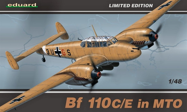 Bf 110C/E in MTO (Limited Edition) 1/48 Eduard