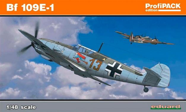 Bf 109E-1 (PROFIPACK) 1/48 Eduard