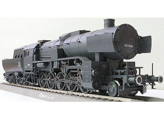 Germany train model BR42 Steam locomotive LILIPUT HO Scale