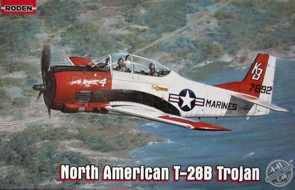 North American T-28B Trojan 1/48 Roden