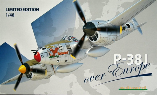 P-38J over Europe (Limited Edition) 1/48 Eduard