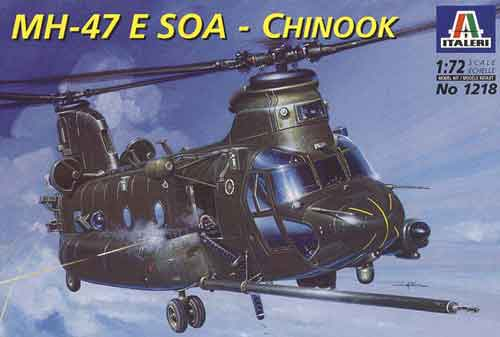 MH-47E Chinook SOA 1/72 Italeri