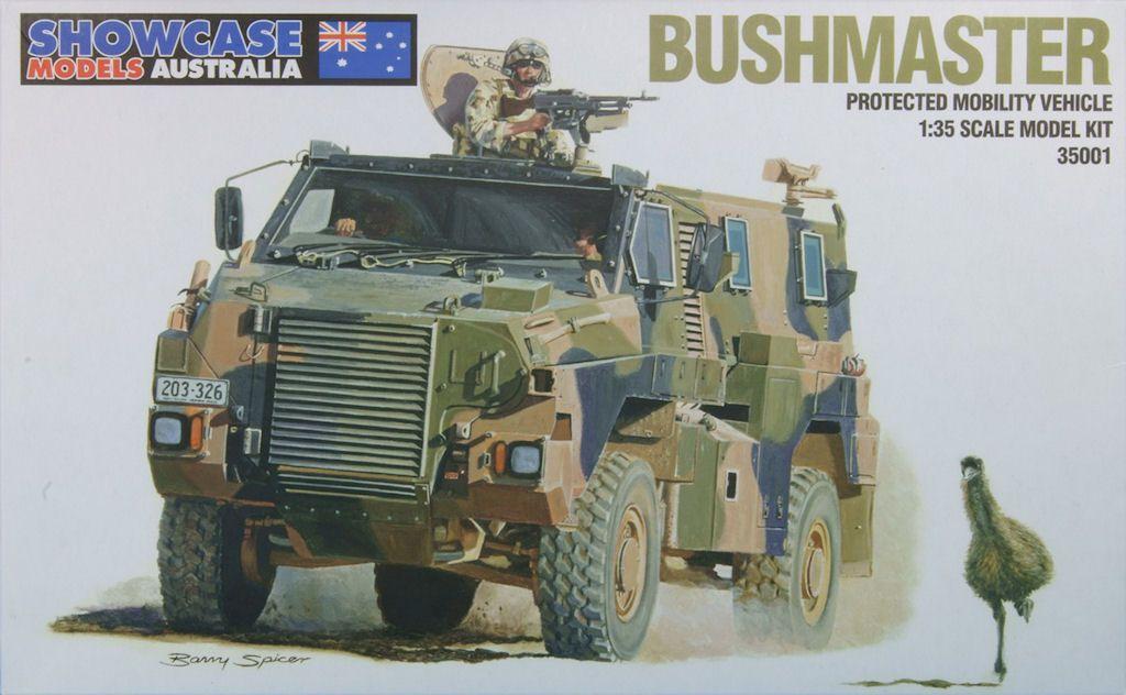 IMV Bushmaster 1/35 Showcase Model