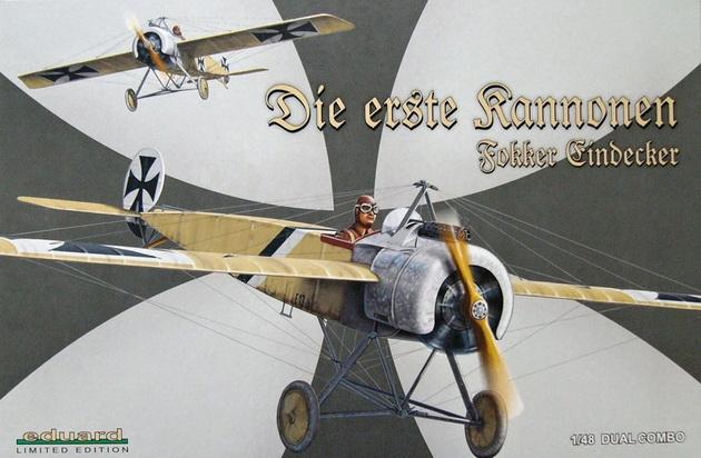 Fokker E.I/E.II DUAL COMBO (Limited Edition) 1/48 Eduard