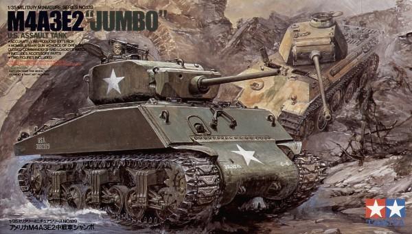 U.S.M4A3E2 JUMBO 1/35 Tamiya