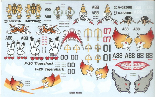 Area 88 1/72 Decal