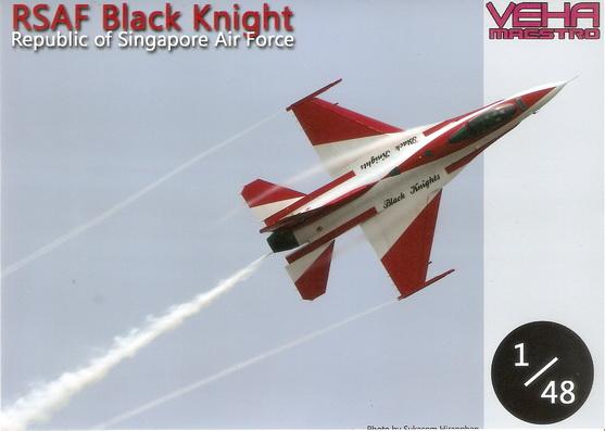 RSAF Black Knight 1/48 Decal