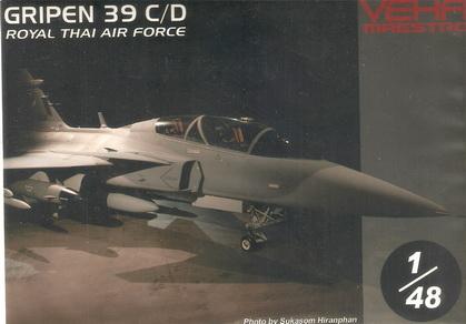 Gripen JAS-39C/D Royal Thai Air Force 1/48 Decal