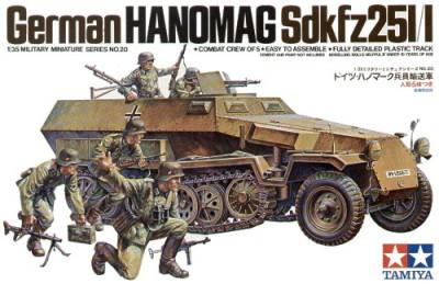 German Hanomag SdKfz 251/1 1/35 Tamiya