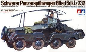 German Sd.Kfz 232 1/35 Tamiya