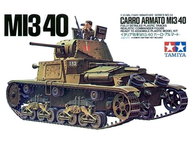 Carro Armato M13/40 1/35 Tamiya