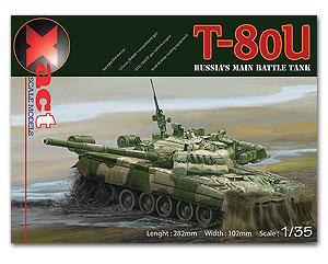 T-80U Soviet/Russian Main Battle Tank 1/35 XACTscale MODEL