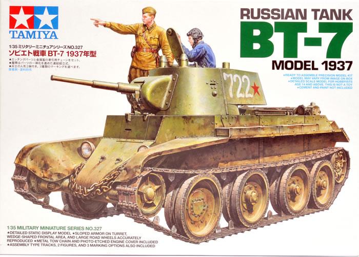 Russian Tank BT-7 Model 1937 1/35 Tamiya