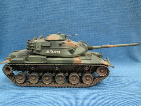 โมเดลสำเร็จ รถถังหลัก M60A3 ม.พัน 5 รอ. มาตราส่วน 1/35