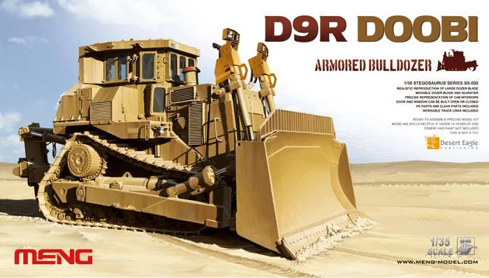 D9R ARMORED BULLDOZER 1/35 Meng Model