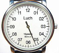 นาฬิกา Luch เข็มเดี่ยว