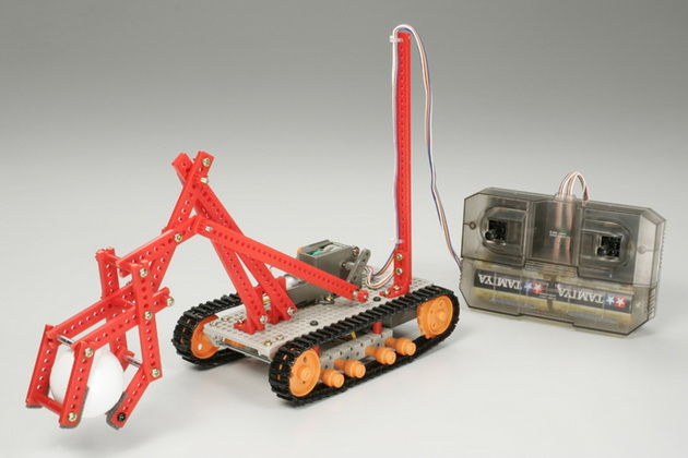 Remote Control Robot - Construction Set/Crawler Type Tamiya