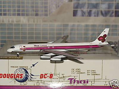 Thai Cargo Douglas DC 8 HS-TGS 1/400 Aeroclassics
