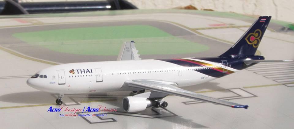 Airbus A300-300R Thai HS-TAT Last Flight 1/400 Aeroclassics