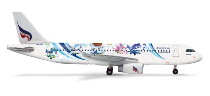 Airbus A320 Bangkok Airways Mascots 1/400 Herpa