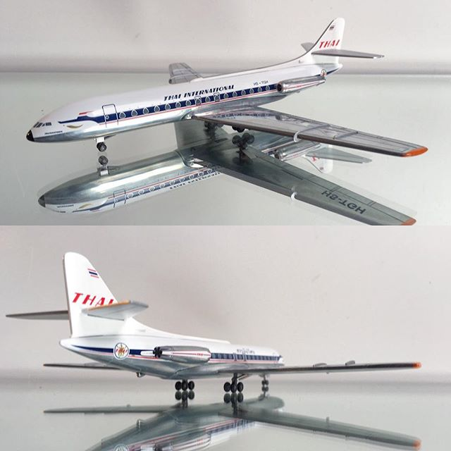 Thai International Airlines Caravelle HS-TGH 1/200 Herpa