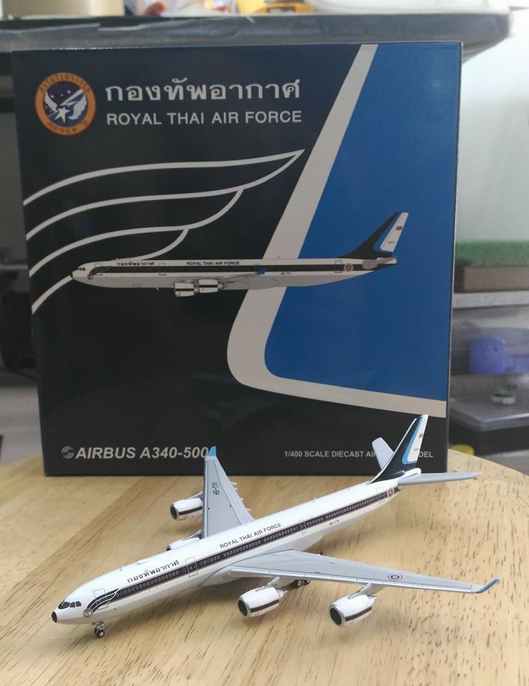 A-340 RTAF กองทัพอากาศ 1/400 JC Wings