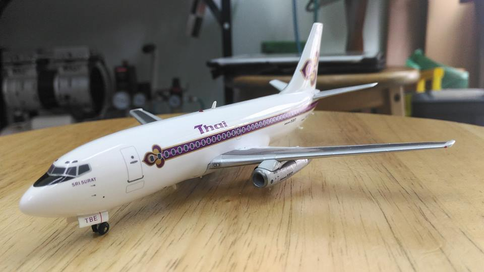 Boeing 737-200 Thai Airways Limited 120 ลำ ทั่วโลก 1/200