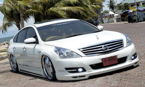 ชุดแต่งรอบคัน นิสสันเทียน่า Nissan Teana 2009 and Teana 2012 VIP Style