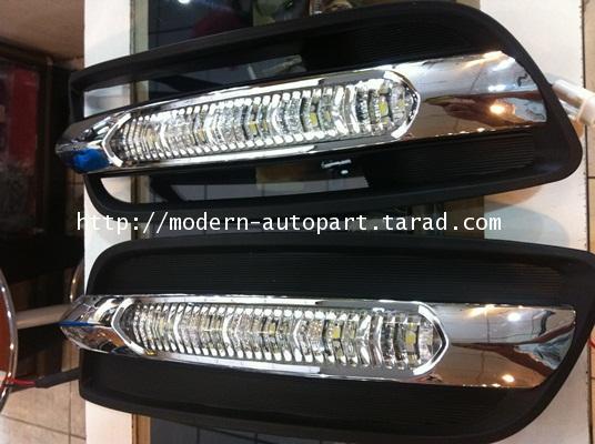 ไฟแต่ง DRL Daylight Nissan teana (Benz daylight stype)
