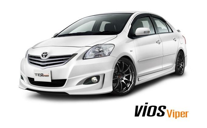 ชุดแต่ง VIOS 2007 2009 2010 2011 2012 VIPER 2