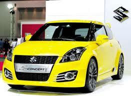 ชุดแต่ง สวิฟ แต่ง Suzuki Swift 2012 2013 2014 S concept