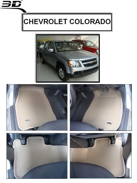 ถาดพรมปูพื้นรถยนต์ Chevrolet COROLADO