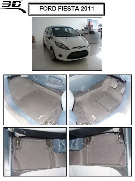 ถาดพรมปูพื้นรถยนต์ Ford FIESTA 2011