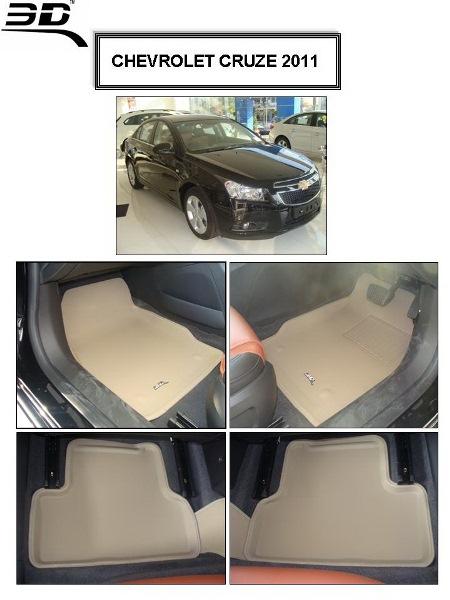 ถาดพรมปูพื้นรถยนต์เข้ารูป Chevrolet CRUZE