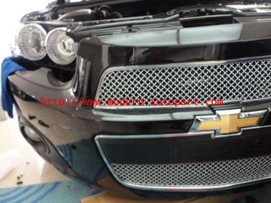 ตะแกรง Sonic Chrome Front Grille Jaguar style
