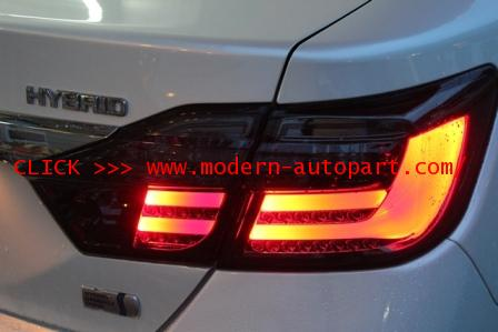โคมไฟท้าย Tail Lamp for New CAMRY 2012 BMW S7 โคมดำ