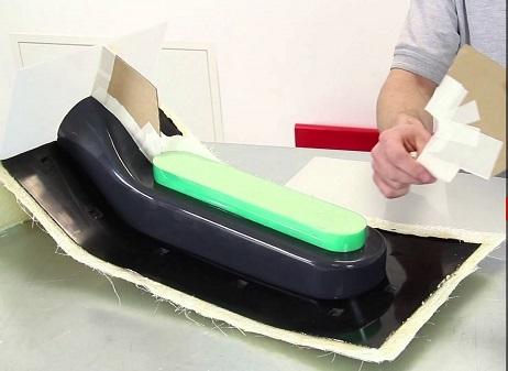 ผลิตชิ้นส่วนมอเตอร์ไซค์ ขึ้นรูปพลาสติก ระบบสูญญากาศ Vacuum