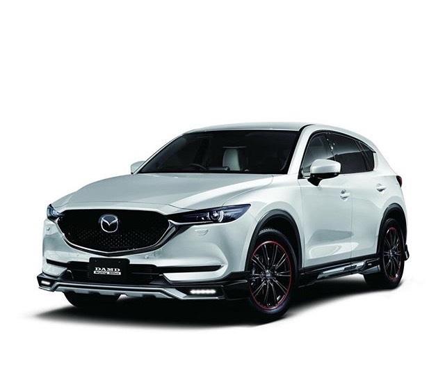 ชุดแต่ง Mazda CX5 2018 ทรง DAMD