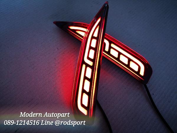 ไฟทับทิมกันชนท้าย LED Mitsubishi XPANDER