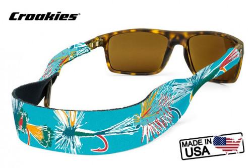 สายคล้องแว่นตา Croakies XL Print รุ่น Sub Dry Fly